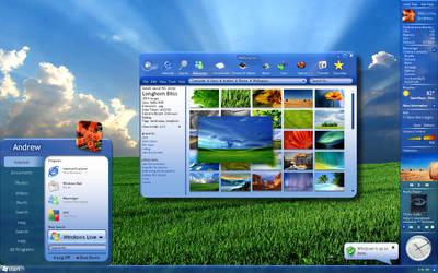 New Windows 7 Concept Plex by aesmon11