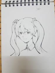 Hatsune Miku by Kirito5454
