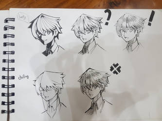 Sketch 2 by Kirito5454