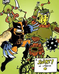 Wolverine vs ... by earthwar-jim
