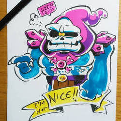 I'm not nice!!! by earthwar-jim