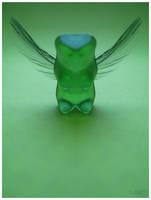 Green Gummy Angel by Lost-InThe-Shadows