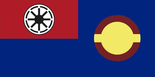 Flag of Galactic Republic Navy by MartinKassemJ120