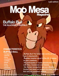 Moo Mesa Magazine #9: Buffalo Bull (Rewrite) by CCB-18