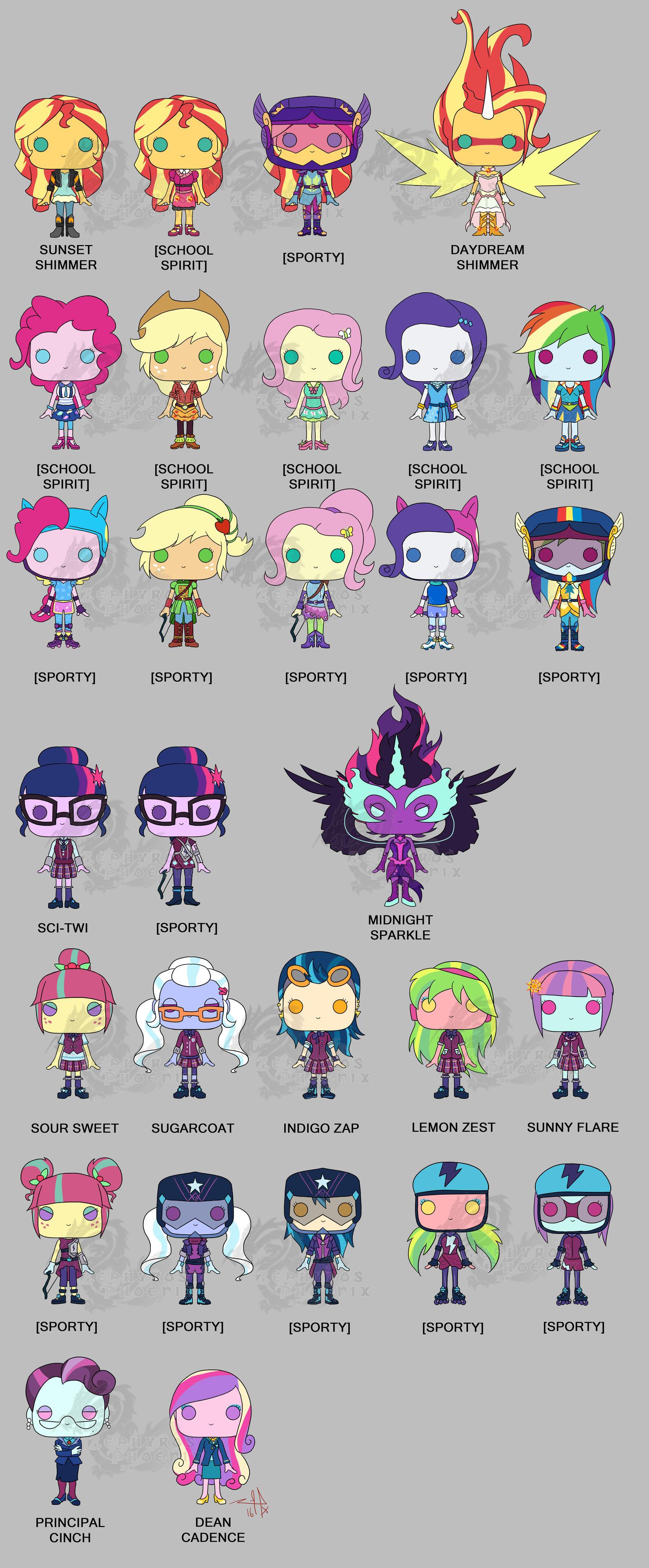 Pop PonyMaker Game - My Little Pony & Equestria Girls
