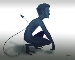 Xmen NightCrawler version by Jeemfers