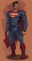 Superman Redesign III by mase0ne