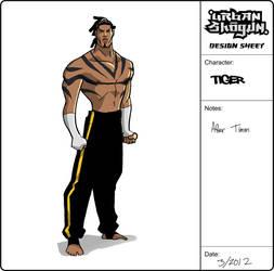 Tiger Design by mase0ne