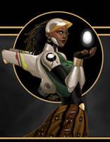 Onyxcon: Sankofa Art by mase0ne