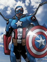 Captain America by mase0ne