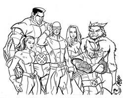 Astonishing X-Men by mase0ne
