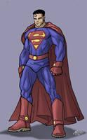 Superman Redesign II by mase0ne