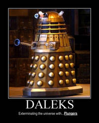 Demotivational Dalek by Kintoke-Saruwatari