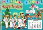 Fox Calendar 2013 - December by micke-m