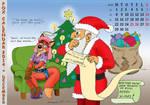 Fox Calendar 2014 - December by micke-m