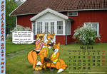 Fox Calendar 2018 - May by micke-m
