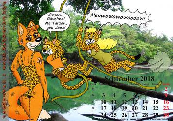 Fox Calendar 2018 - September by micke-m