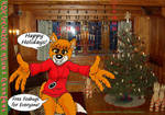 Fox Calendar 2018 - December by micke-m