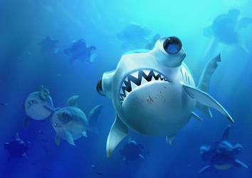 Sharky by LuckyFK