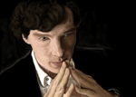A Study in Oil: Sherlock Speedpaint by Lindenlin