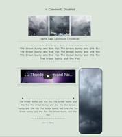 Grey storms by Tskaa