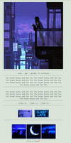 Blue Night by Tskaa