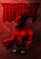 Dwarf HellBoy by SergioSilvan
