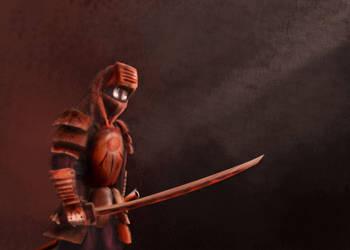 Samurai-Knight by darkness815