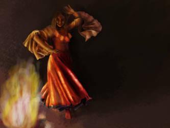 Fire Dancer by darkness815