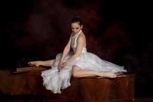 piano girl by szorny-stock