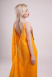 Orange gown III by szorny-stock
