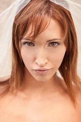 Bridal makeup by szorny-stock