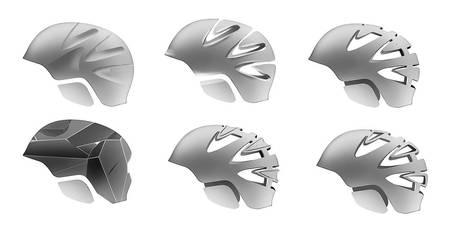 One hundred helmets - pt. 3 by everydaydennis