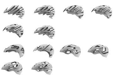 One hundred helmets - pt. 10 by everydaydennis