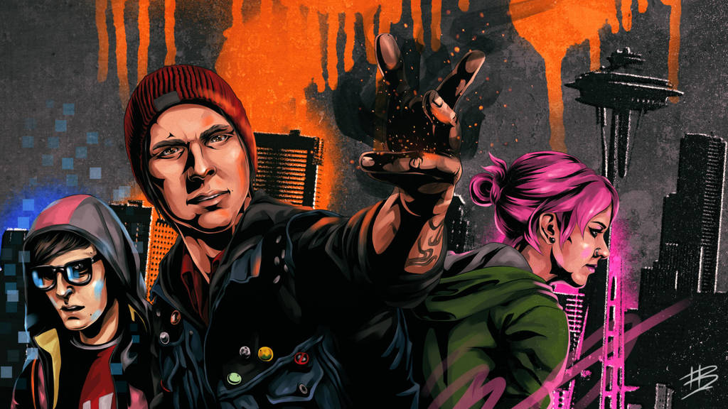 Infamous: Second Son (Wallpaper) by besenheide ...