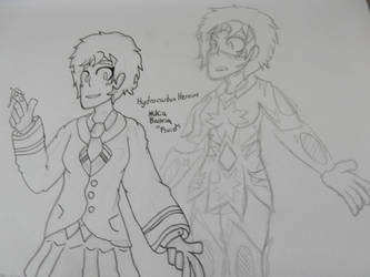 BNHA OC: Mikia Baltria by M-Baskerville