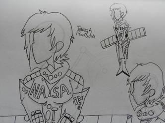 BNHA Villain OC - Intrega Arkadia by M-Baskerville