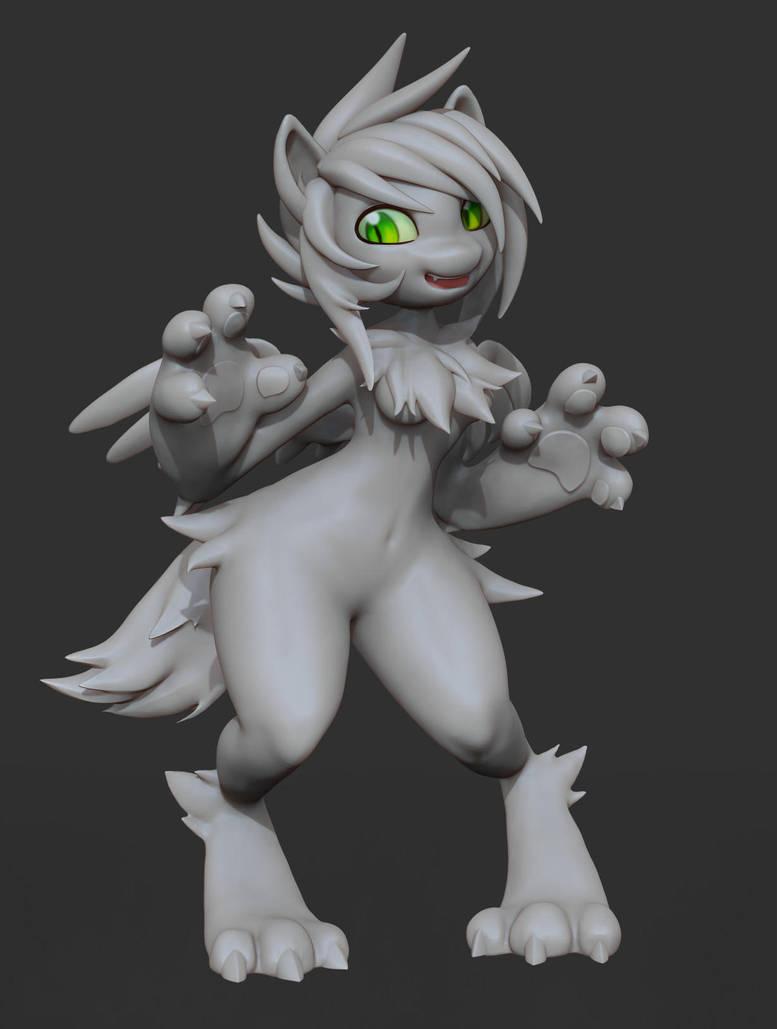 Dragon Girl Wickle by bosman697