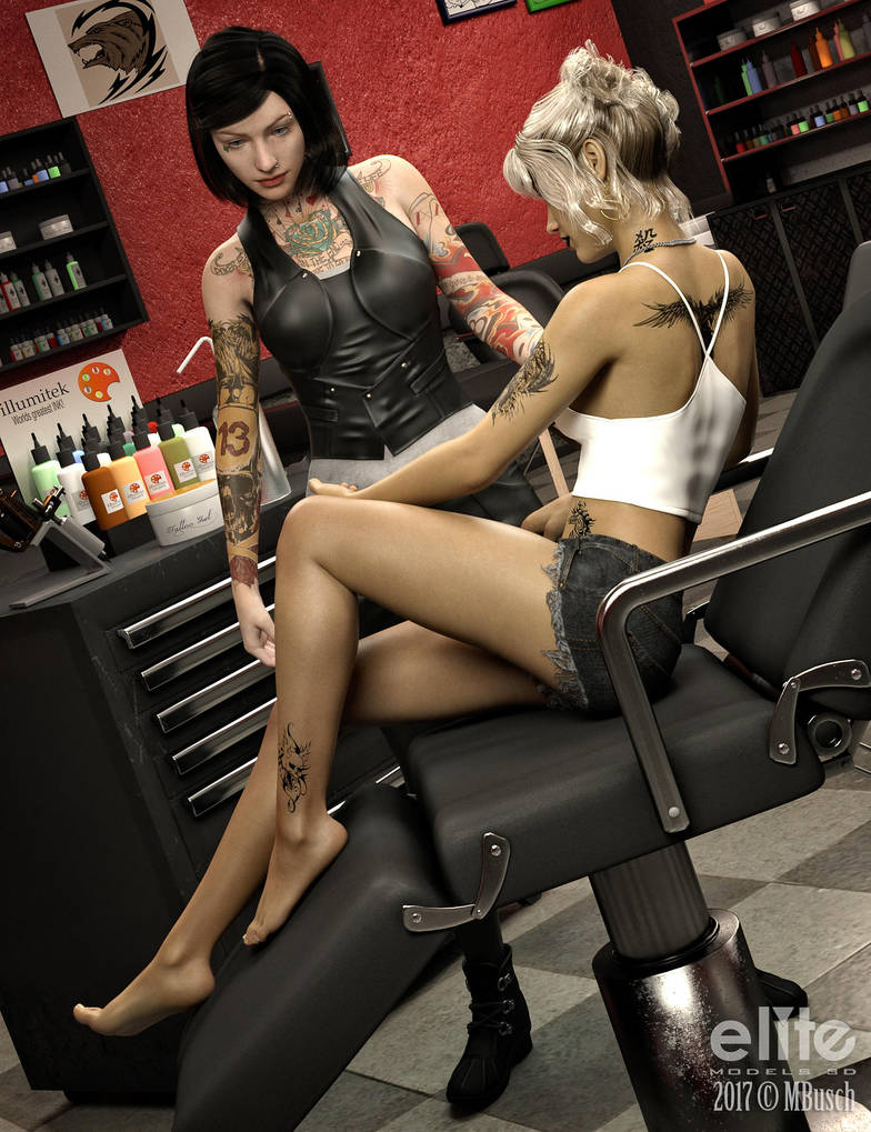 The Tattoo Studio EM3D Promo by MBusch