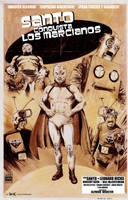 El Santo Conquers the Martians poster by RobertHack