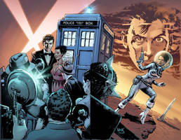 Doctor Who Prisoners of Time 10 unpublished colors by RobertHack
