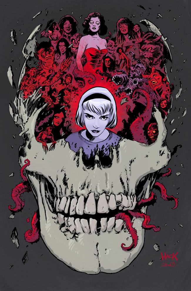 SABRINA #1 cover by RobertHack