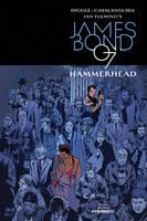 James Bond: Hammerhead #1 variant cover by RobertHack