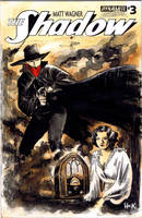 The Shadow sketch cover by RobertHack