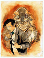 Doctor Who 11 and Sea Devil. by RobertHack