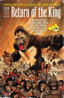 Kong on the Planet of the Apes #2 variant cover  by RobertHack