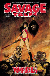 Savage Tales: Vampirella One-Shot cover by RobertHack