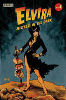 Elvira: Mistress of the Dark #4 variant cover  by RobertHack