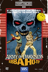 Army of Darkness/Bubba Ho-Tep #2 cover by RobertHack