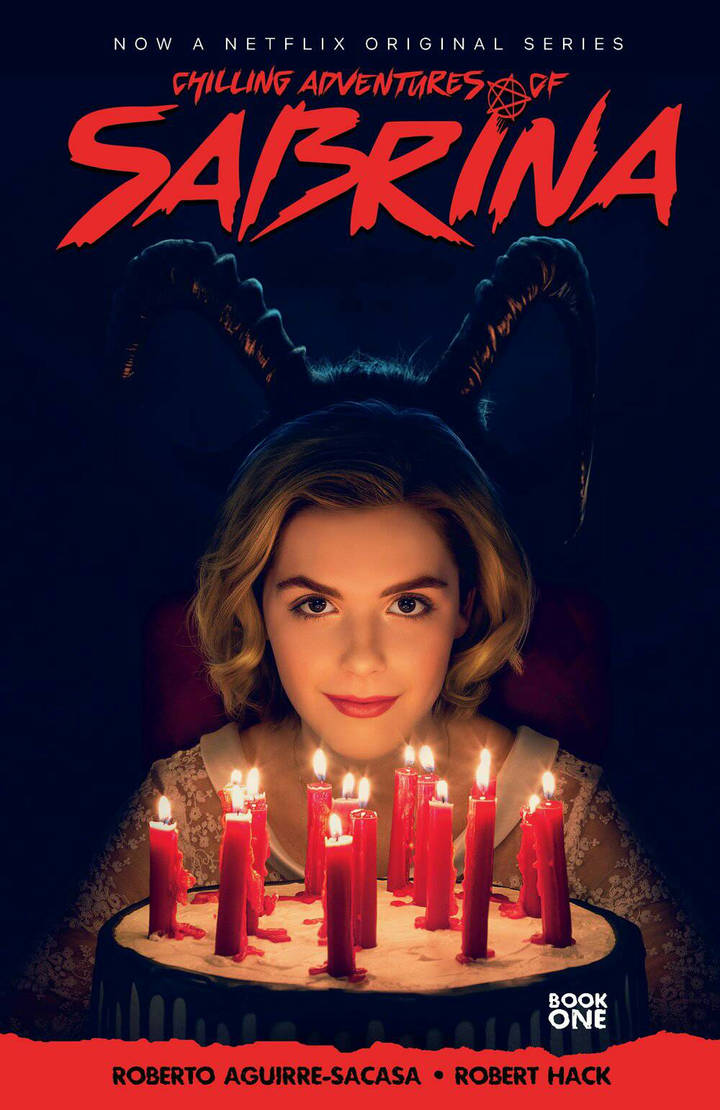 Chilling Adventures of Sabrina 2019 tpb cover by RobertHack